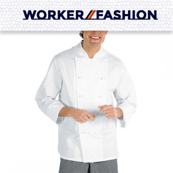 Μπλούζα Μάγειρα MM CHEF Καπαρτίνα 240gr